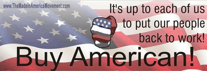Buy American made, made in america, made in usa, american made, bring jobs home