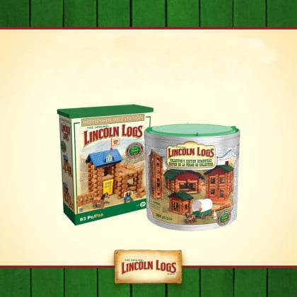 Toy Maker To Bring Lincoln Logs Production Back to U.S.