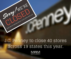 JC Penney to close 40 stores in 2015