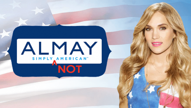 'ALMAY SIMPLY AMERICAN' SIMPLY NOT TRUE