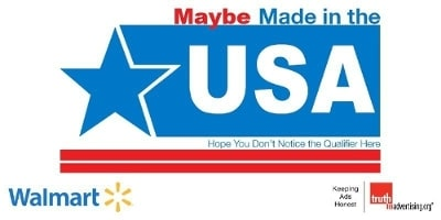 Walmart Website Riddled with Deceptive Made in USA Labeling
