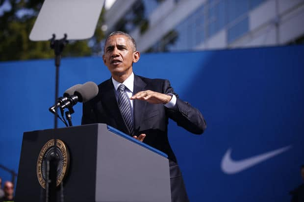 U.S.-made Nike footwear a slam dunk -- some day -- with or without trade deal, Made in USA Sneakers, American made sneakers, Made in USA Nike