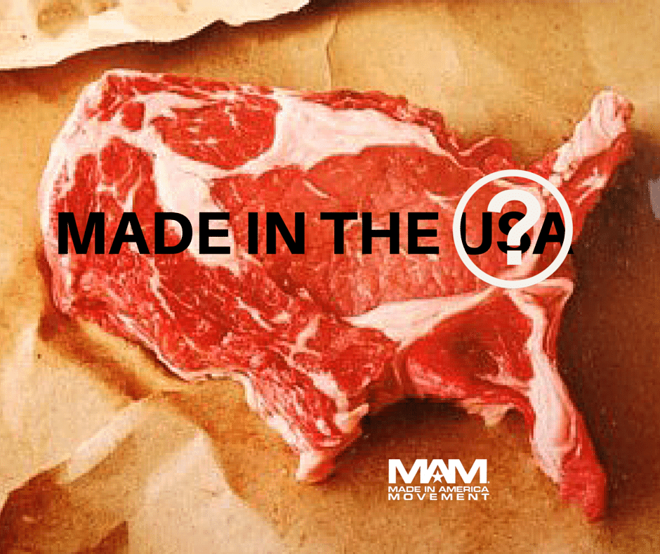Beef Imports from FMD-Infected Brazil & Argentina Approved, Country of Origin Labeling, COOL FTC, Made in USA Beef, Product of USA Beef