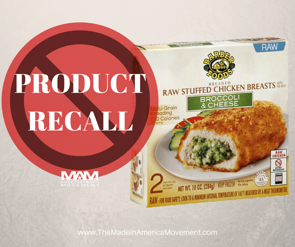 17 Million Lbs Of Frozen Chicken May Be Contaminated With Salmonella