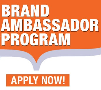 brand ambassador program - apply below