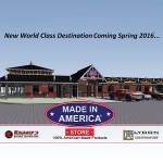 Project To Create Jobs. Made in America Store Expanding