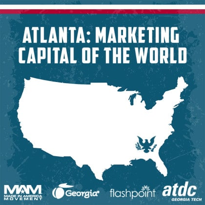 Read to learn Atlanta has quickly become the World's Capital for Marketing.