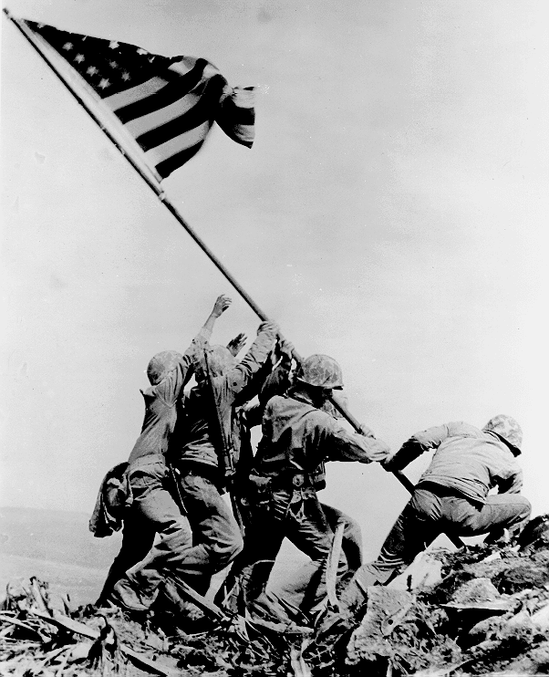 Flashback: Raising the Flag at Iwo Jima