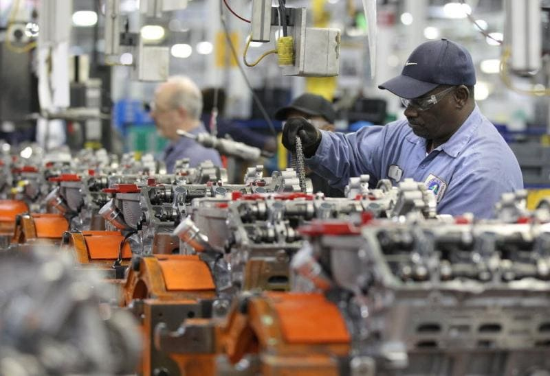 January Manufacturing Orders Showed Best Growth In 10 Months