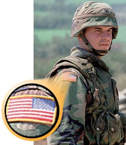 "Why is The U.S. Flag Worn ""Backwards"" on The Uniform?"