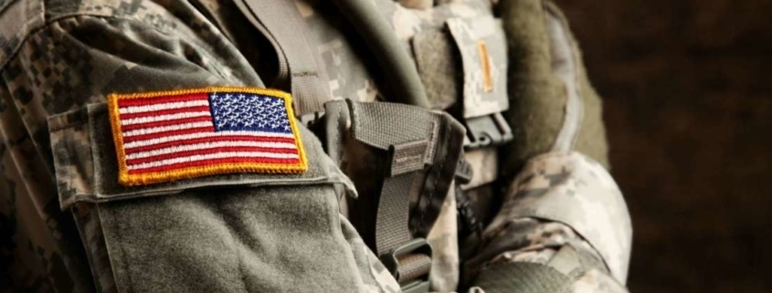"Why is The U.S. Flag Worn ""Backwards"" on The Uniform? , this is why the flag is backwards on the military uniform,"