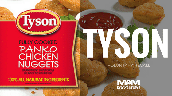 Tyson Foods Voluntarily Recalls Chicken Nuggets