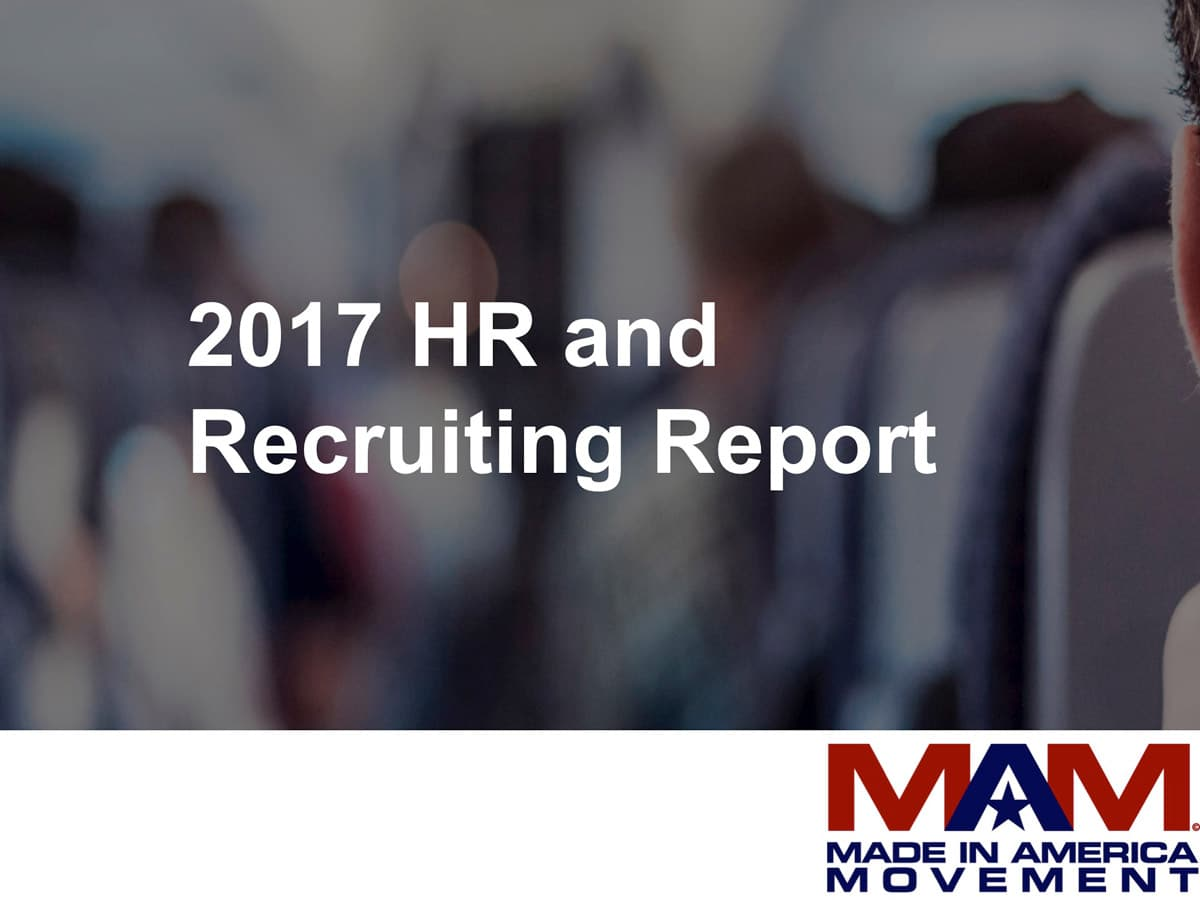 2017 HR and Recruiting Report