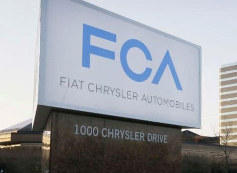 Fiat Chrysler Announces Plans To Invest $1 Billion In The U.S.