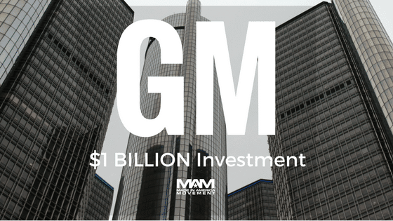 GM Announces $1Billion in U.S. Investments, Creating 1,000 Jobs