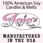Jojo's Candles, Tea Lights, Wax Melts, Jar Candles, Soy Candles, Made in usa, made in america, american made, usa made