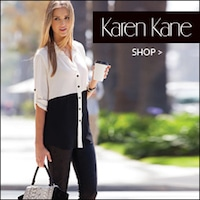 Karen Kane, Women's contemporary clothing, dresses, skirts, pants, jeans, Made in USA, Made in America, American made