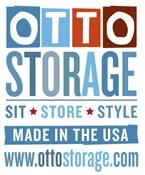 Otto Storage, Otto Stools, Made in usa ottomans, made in usa storage, multifunctional ottomans