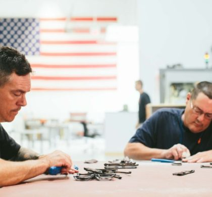 Chicago Factory's Rare Mission: Manufacture Eyewear in U.S.A.
