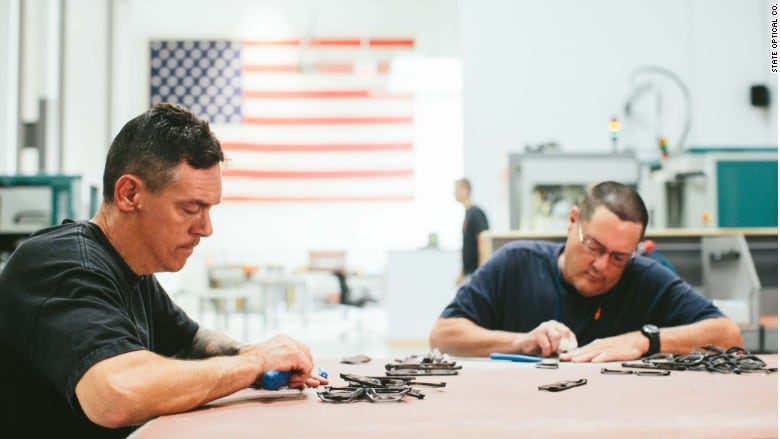 eyewear, Chicago Factory's Rare Mission: Manufacture Eyewear in U.S.A.