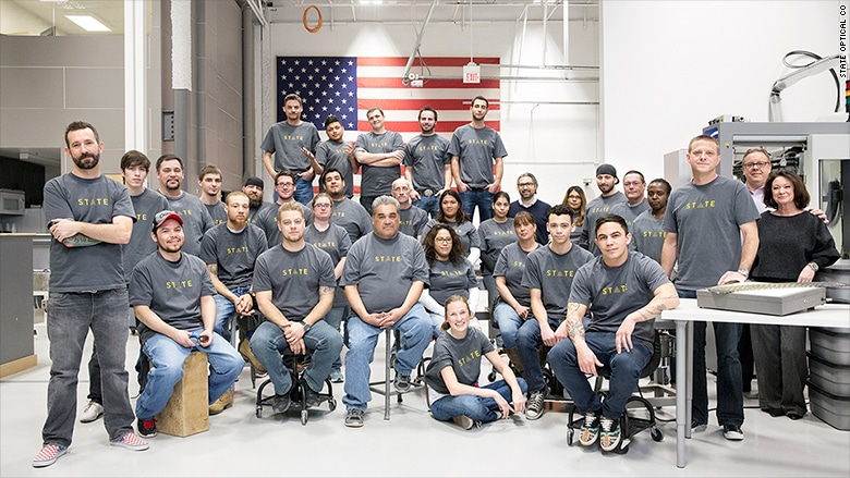 Chicago Factory's Rare Mission: Manufacture Eyewear in U.S.A., eyeglasses, made in usa eyewear, made in usa sunglasses