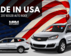 Made in USA: The 2017 Most American-Made Vehicles Are…