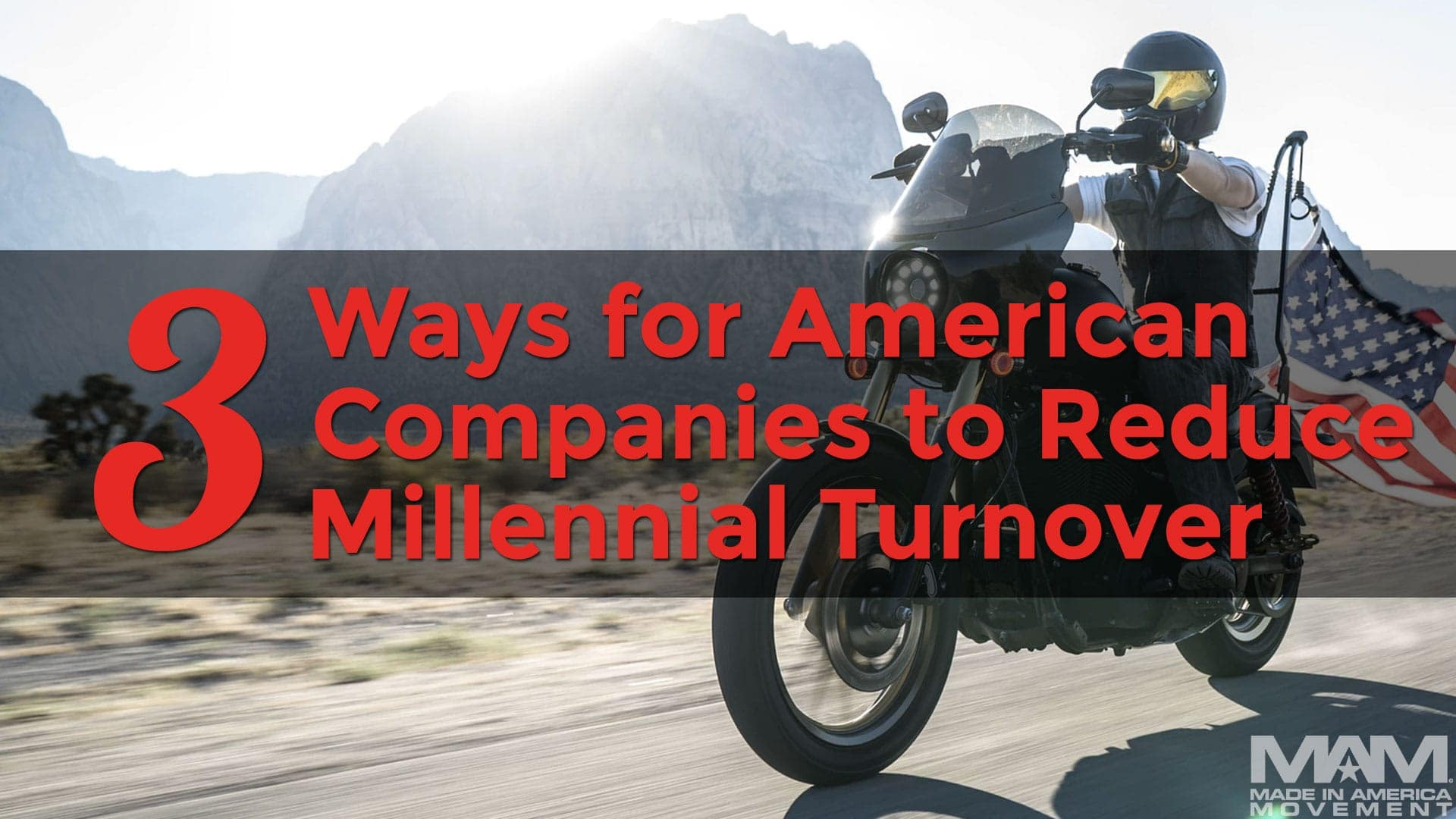 3 Ways for American Companies to Reduce Millennial Turnover