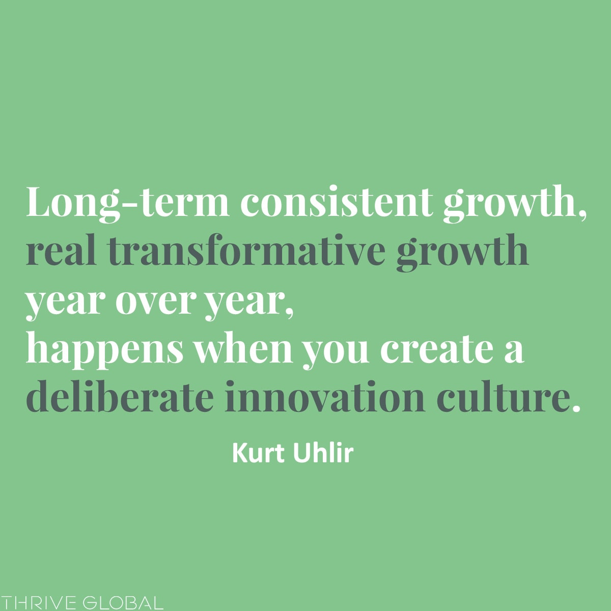 a deliberate innovation culture