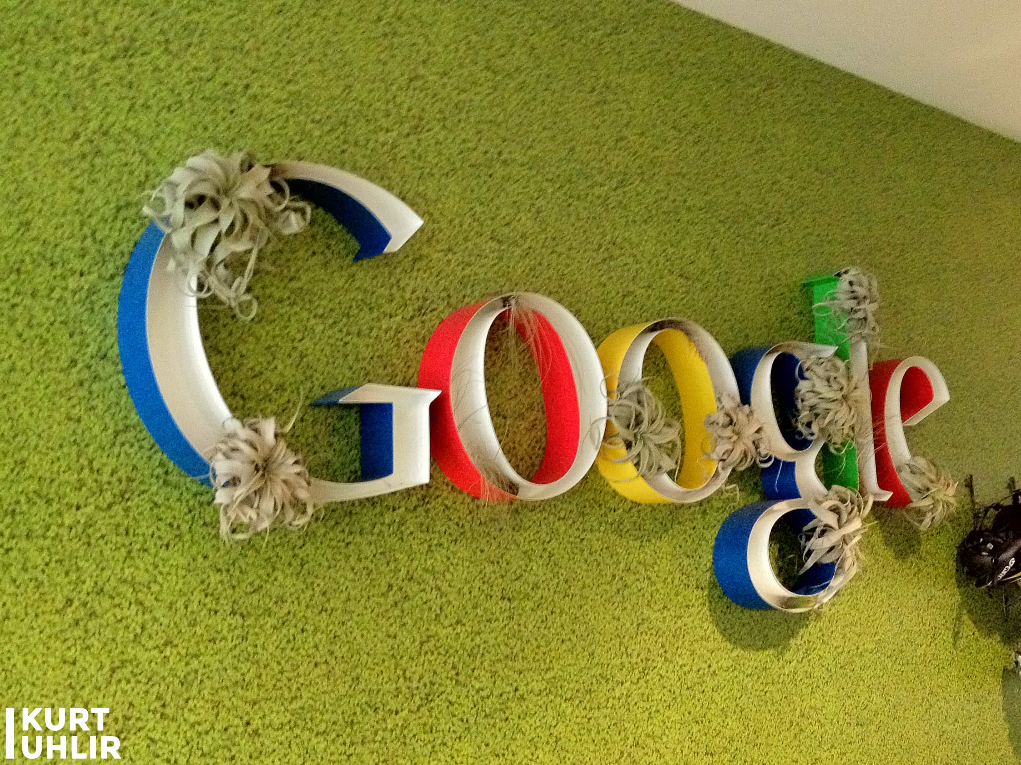 Kurt Uhlir - more meetings at Google's Headquarters