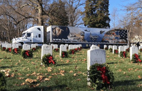 Truckers Delivering Wreaths Across The Country to Honor Veterans