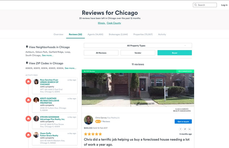Top real estate tools - RateMyAgent