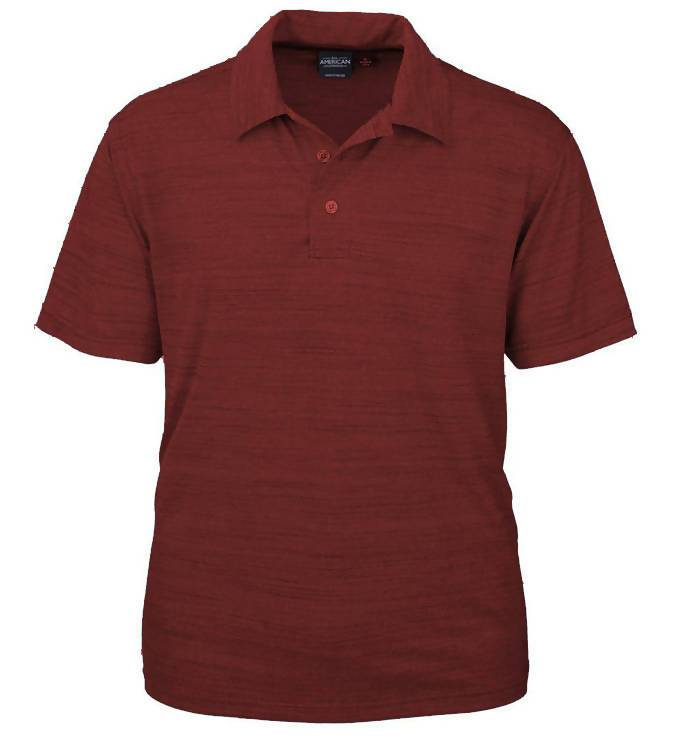 SPF Tiger Stripe Polo Made In America, Sun Protection