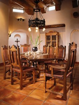 This Dining Room Set By Ernest Thompson Is A Good Example Of The Companyu0027s  Handcrafted Workmanship. (Photo: Ernest Thompson Furniture)