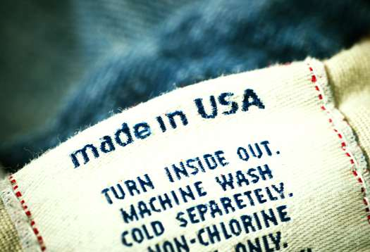Clothing Made in USA